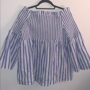 Who What Wear off the shoulder blouse